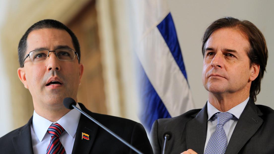 """Canciller venezolano responde al presidente de Uruguay: """"Seguramente ya recibió la felicitación de Washington"""""""
