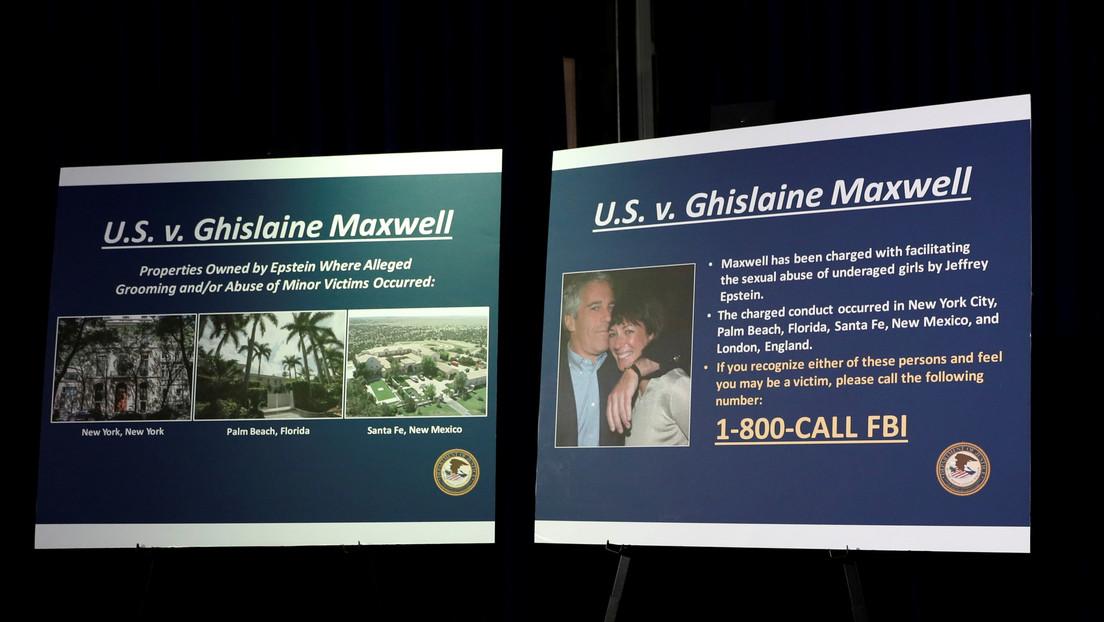 EE.UU.: Jueza ordena hacer públicos ciertos documentos confidenciales en el caso de Ghislaine Maxwell, expareja de Jeffrey Epstein