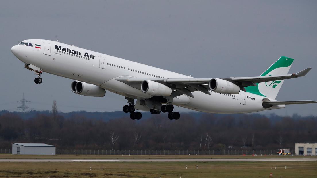 VIDEOS: Pánico y gritos a bordo de un avión de pasajeros iraní tras la aproximación de dos cazas de EE.UU.