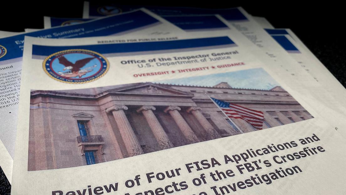 El FBI usó una sesión informativa con Trump en 2016 como tapadera para avanzar en la investigación sobre Rusia