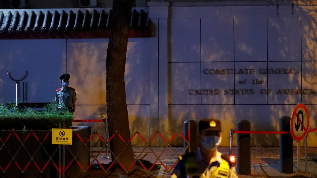 """EE.UU. advierte a China contra el """"ojo por ojo"""" tras ordenar Pekín el cierre de su consulado en Chengdu"""