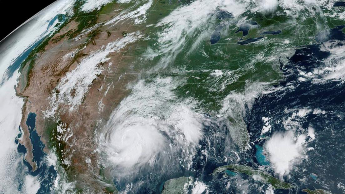 FOTO: Captan la magnitud del huracán Hanna visto desde la Estación Espacial Internacional