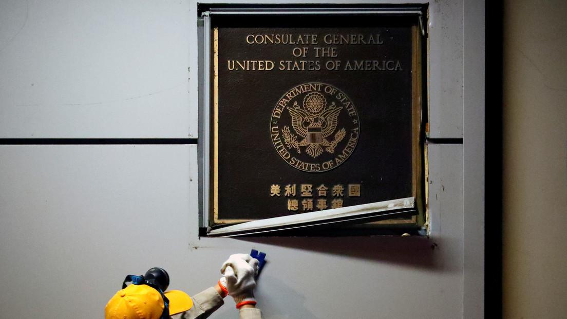EE.UU. cierra oficialmente su consulado en Chengdu tras el cierre del consulado chino en Houston