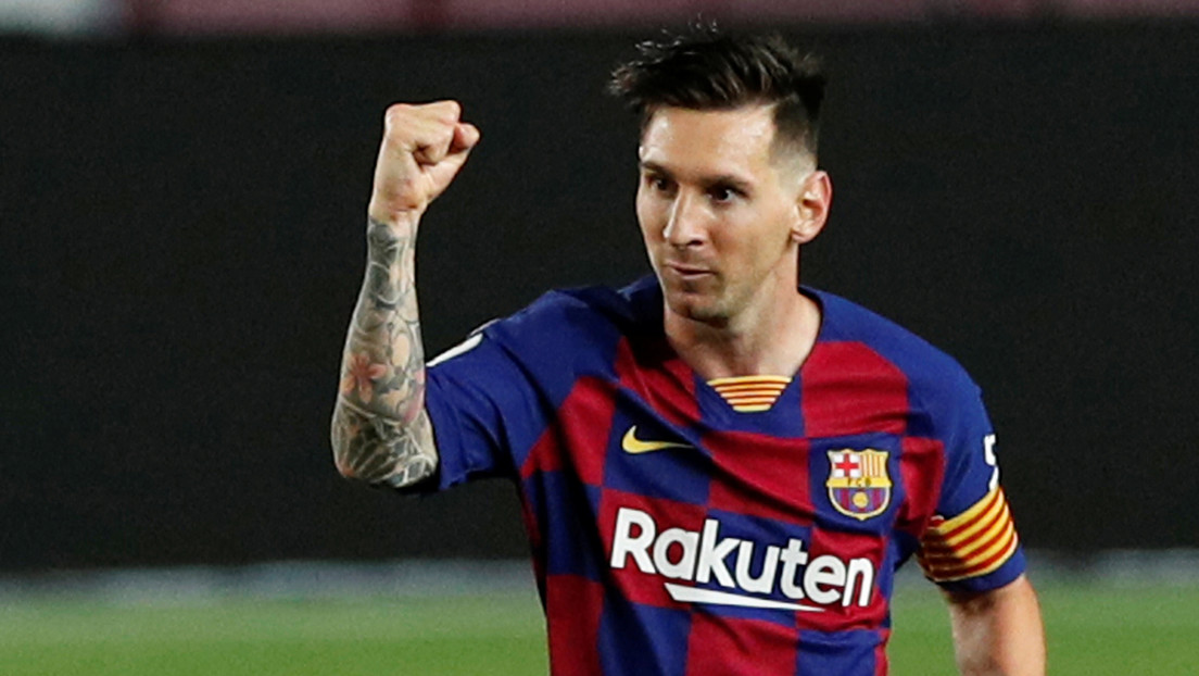 VIDEO: El FC Barcelona muestra una grabación inédita de Lionel Messi anotando un espectacular gol en las categorías inferiores del club
