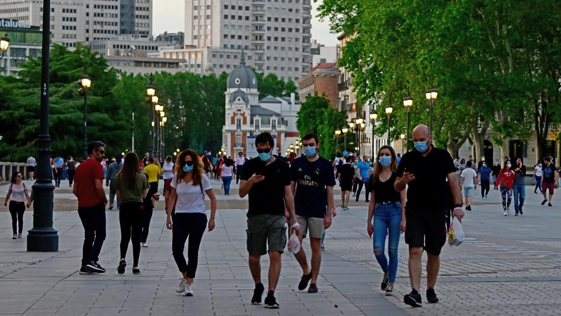 Madrid aprueba el uso obligatorio de mascarilla ante el aumento de los contagios de coronavirus
