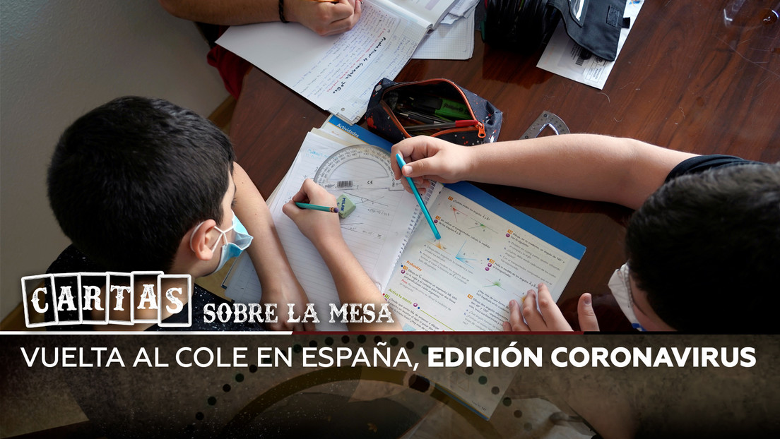Vuelta al cole en España, edición coronavirus