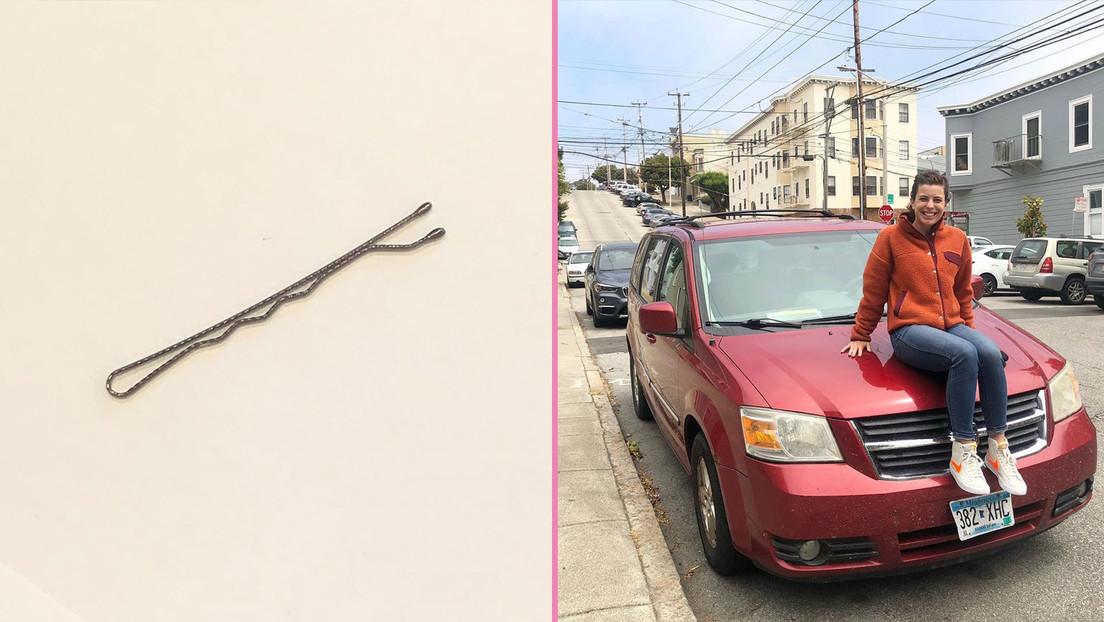Una bloguera inicia una cadena de trueque con una horquilla para el cabello y en dos meses consigue un coche