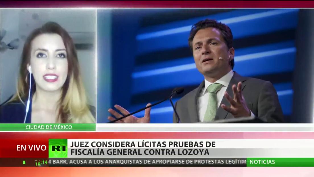 Juez considera lícitas las pruebas de la Fiscalía General de México contra el exdirector de Pemex