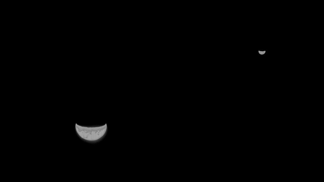 La sonda Tianwen-1 envía su primera foto a la Tierra camino de Marte