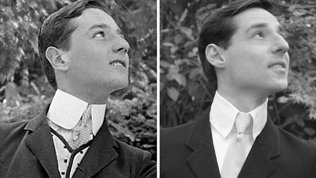 Un hombre queda «boquiabierto» tras hallar a su 'gemelo perdido' en una foto de hace 115 años (FOTO)