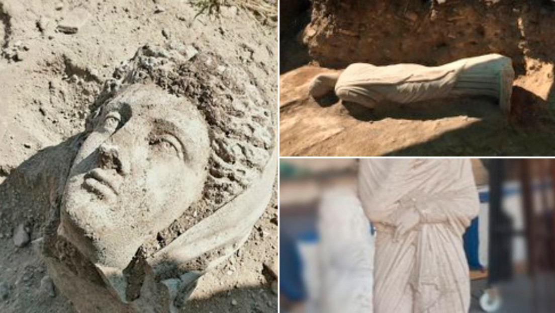 Descubren en Turquía una estatua de 1.700 años de antigüedad perteneciente al periodo helenístico