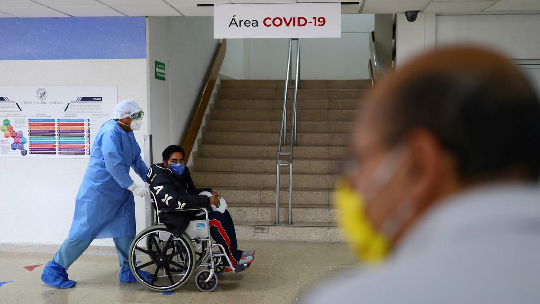 México rebasa las 45.000 muertes por covid-19 y registra 408.449 contagios