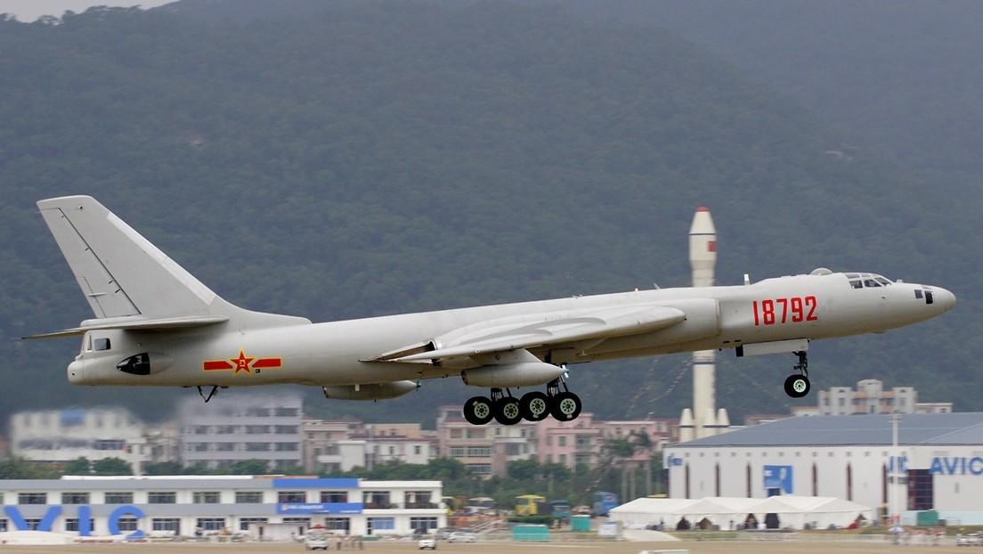 Pekín anuncia que bombarderos chinos realizaron un simulacro en el mar de la China Meridional