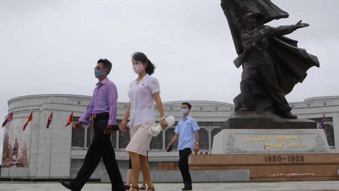 El diario oficial norcoreano desestima que en el país haya contagiados de coronavirus
