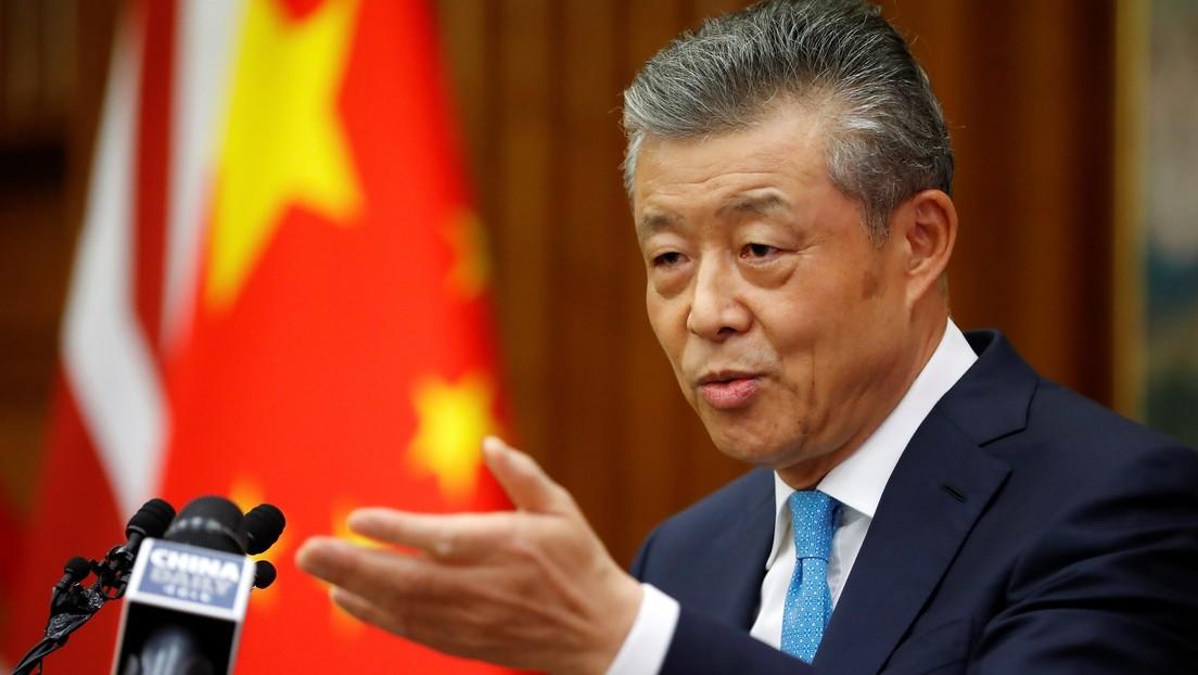 """Embajador chino en Reino Unido afirma que Londres """"envenenó"""" las relaciones con Pekín y advierte contra """"la mentalidad de la Guerra Fría"""""""
