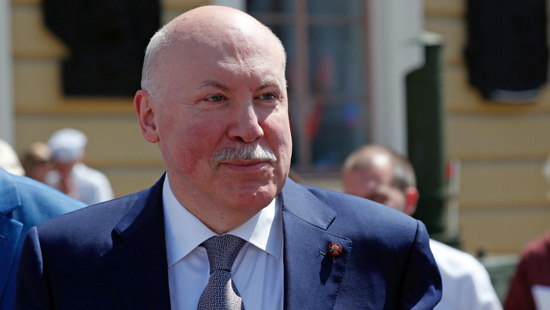 Embajador ruso: Los rusos detenidos en Bielorrusia estaban en el país de tránsito