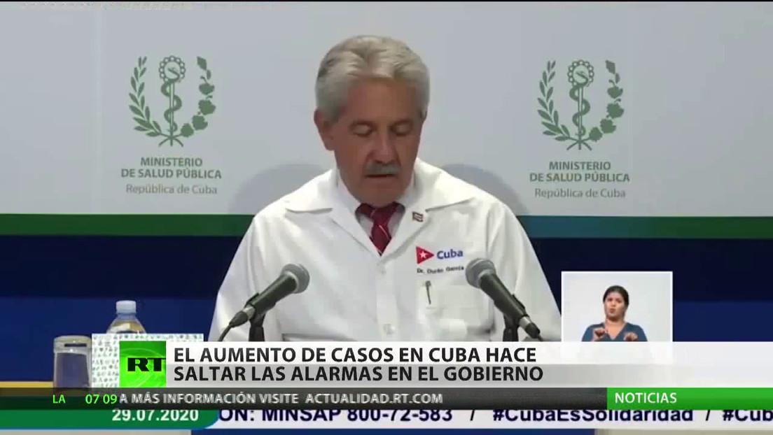 El aumento de casos de covid-19 en Cuba hace saltar las alarmas en el Gobierno