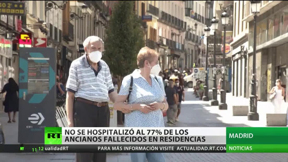 Medios españoles: El 77 % de ancianos fallecidos por coronavirus en Madrid no fueron hospitalizados