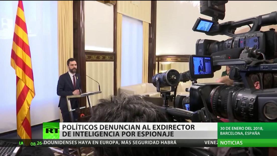 España: Políticos catalanes acusan al exdirector de inteligencia de espionaje