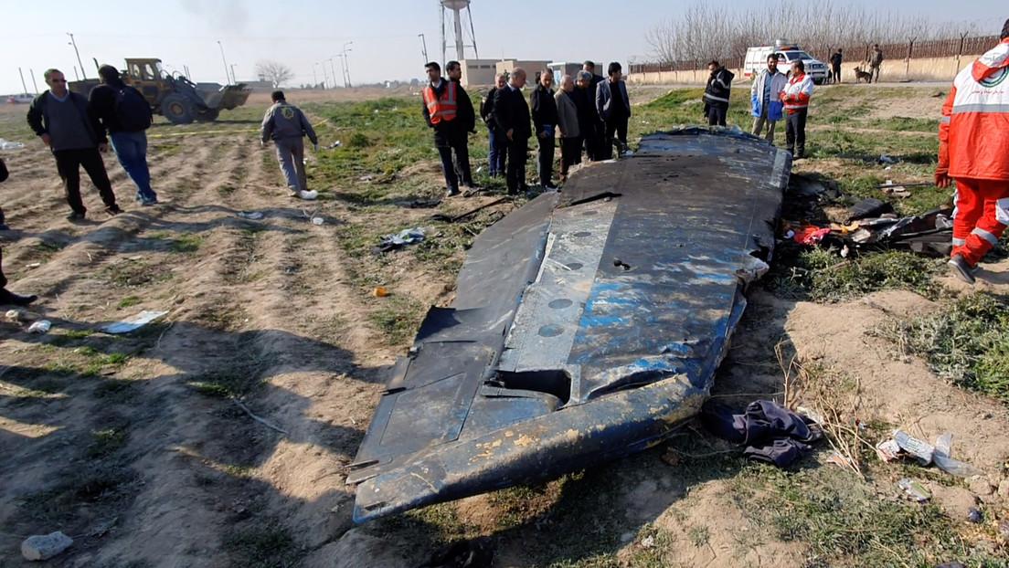 Teherán acepta pagar una indemnización por el avión ucraniano derribado a principios del 2020