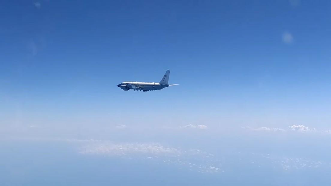 VIDEO: Un Su-27 ruso intercepta dos aviones de EE.UU. sobre el mar Negro, en el cuarto incidente de este tipo en solo una semana