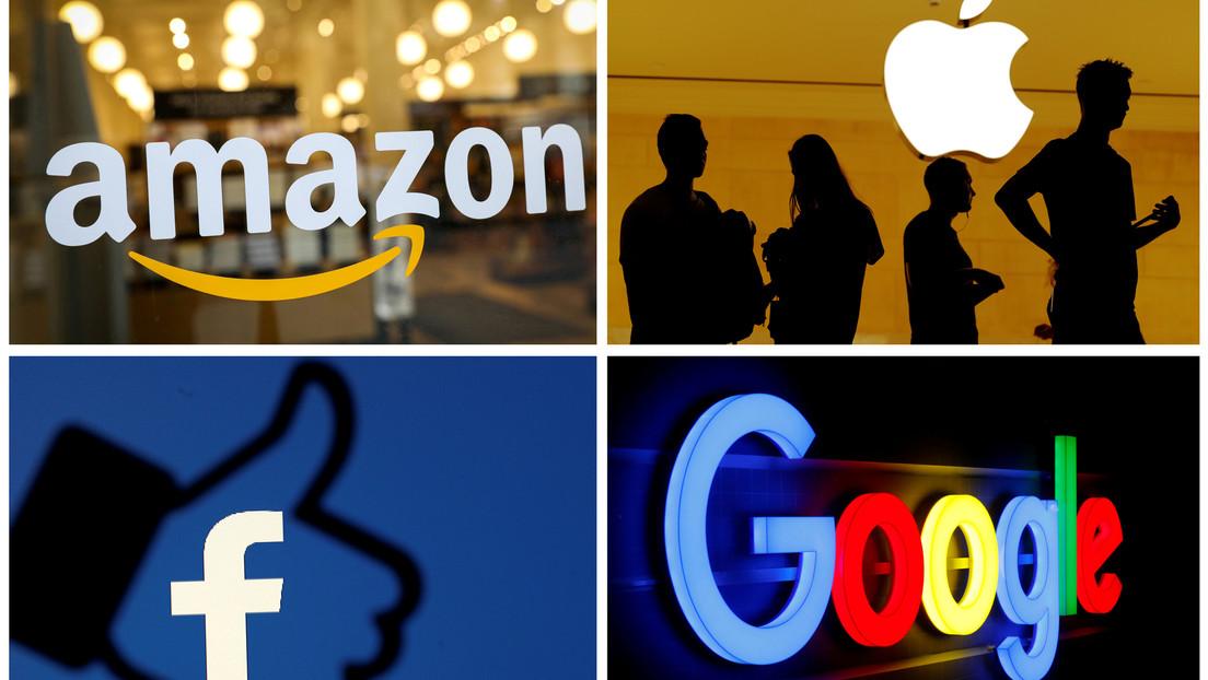 Amazon, Apple, Facebook y Alphabet anuncian enormes ingresos trimestrales, un día después de que sus jefes comparecieron ante el Congreso de Estados Unidos.