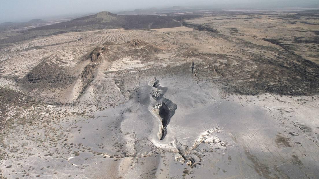 La región de Afar, Etiopía