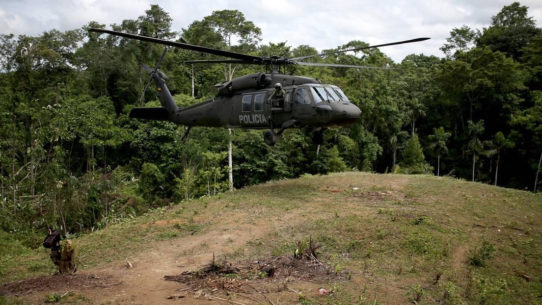 Confirman 9 militares muertos y 6 heridos tras el accidente de un  helicóptero del Ejército de Colombia en la Amazonía - RT
