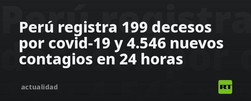 Perú registra 199 decesos por covid-19 y 4.546 nuevos contagios en 24 horas thumbnail
