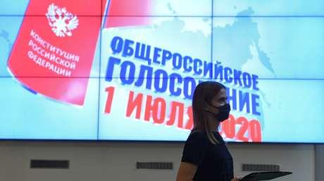 Rusia celebra la última jornada de votación ciudadana a las enmiendas a la Constitución