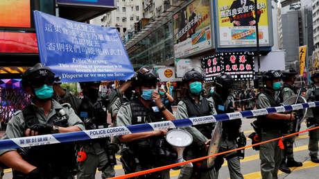 Primer arresto en Hong Kong bajo la nueva Ley de Seguridad Nacional china
