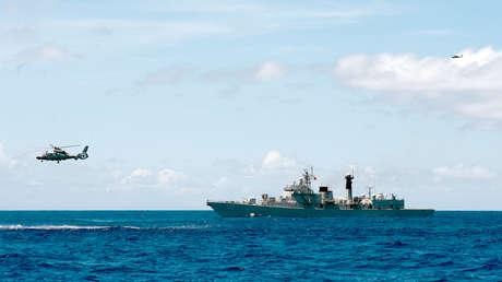 Pekín realiza ejercicios militares en una zona disputada del mar de la China Meridional