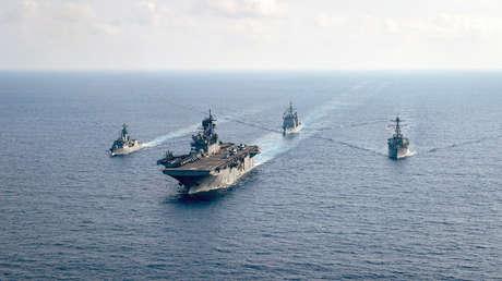 """Pekín acusa a EE.UU. de tener """"motivos ocultos"""" tras enviar dos portaviones al mar de la China Meridional"""