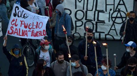 """""""Nos están matando"""": la Marcha por la Dignidad Nacional llega a Bogotá"""