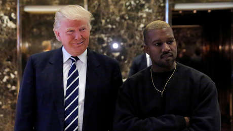 """Trump valora las aspiraciones presidenciales de Kanye West: """"Él y su esposa siempre estarán con nosotros"""""""