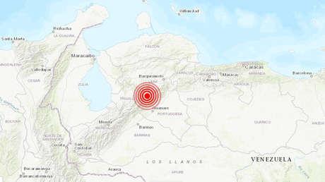 Un sismo de magnitud 5,1 se registra en Venezuela