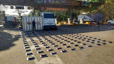 Venezuela incauta 191 kilogramos de cocaína procedentes de Colombia