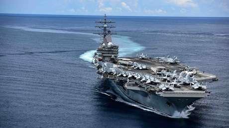 La Armada de EE.UU. vuelve a desplegar dos portaviones en el mar de la China Meridional en pleno aumento de la tensión con Pekín
