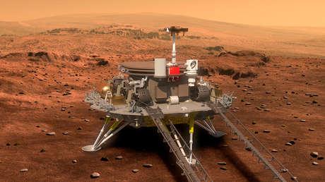 VIDEO: China se prepara para lanzar el cohete Larga Marcha-5 en su primera misión a Marte