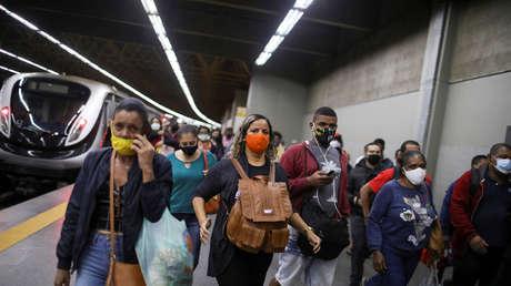 Brasil reporta más de 40.000 nuevos contagios de covid-19 y 1.367 muertes en la última jornada