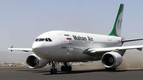 Varios heridos tras la aproximación de dos cazas estadounidenses a un avión de pasajeros iraní que volaba sobre Siria (VIDEOS)