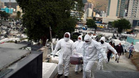 Brasil registra casi 60.000 nuevos contagios de coronavirus y más de 1.300 muertes en las últimas 24 horas
