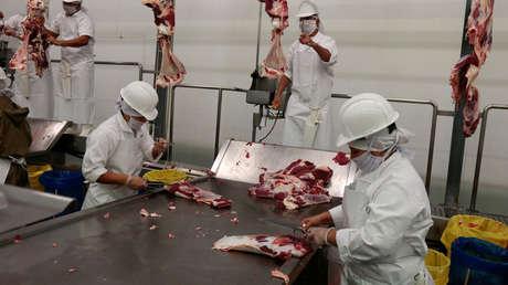 Científicos descubren que el coronavirus se transmitió a 8 metros de distancia en una planta procesadora de carne