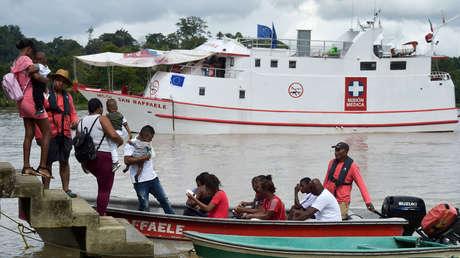 Asaltan un barco hospital en Colombia y logran recuperar parte del millonario material robado