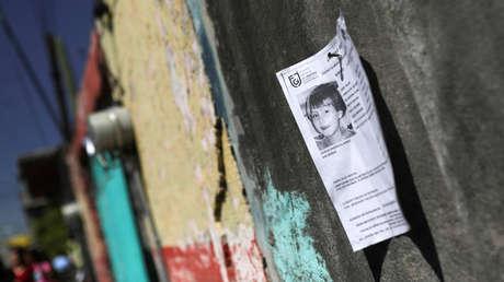 Siete menores desparecen al día en México, mientras que activistas denuncian la omisión del Estado
