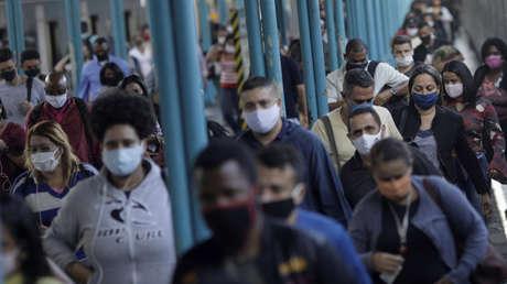 Brasil registra un nuevo récord diario de contagios de coronavirus, con más de 70.000 casos en 24 horas