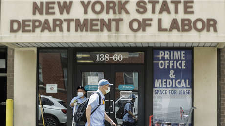 Caída récord de la economía de EE.UU. en un 32,9 % el segundo trimestre debido a los cierres por coronavirus