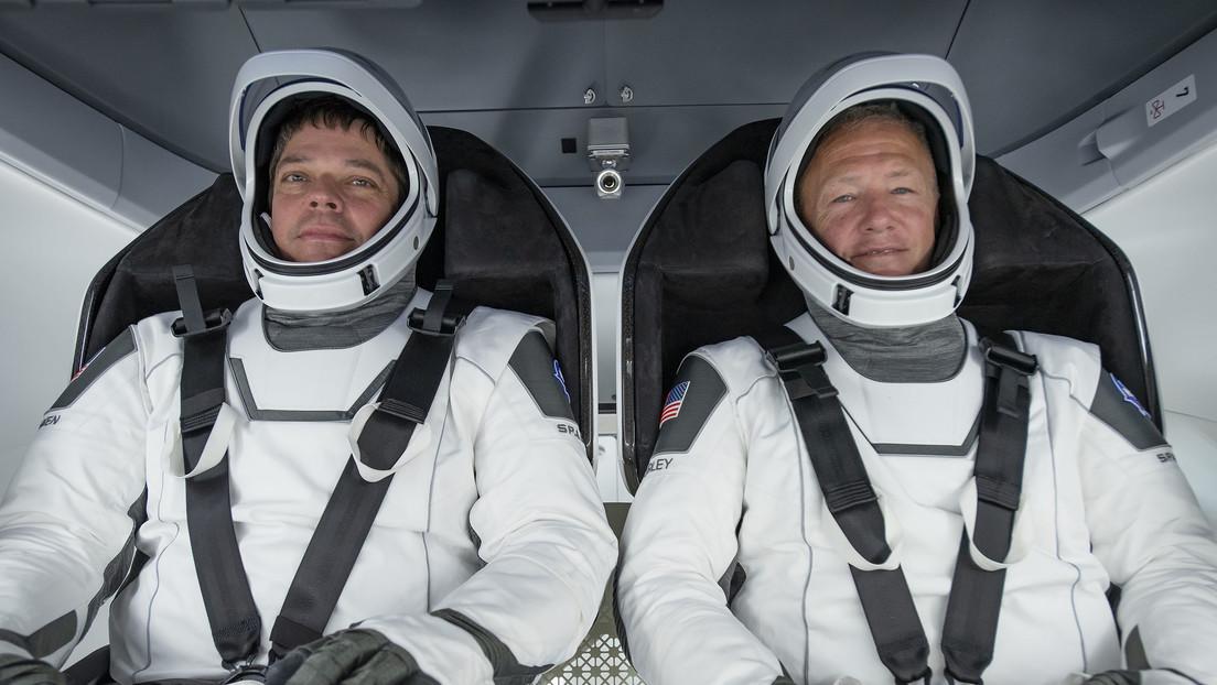 Los astronautas de la SpaceX están listos para volver a la Tierra en la Crew Dragon