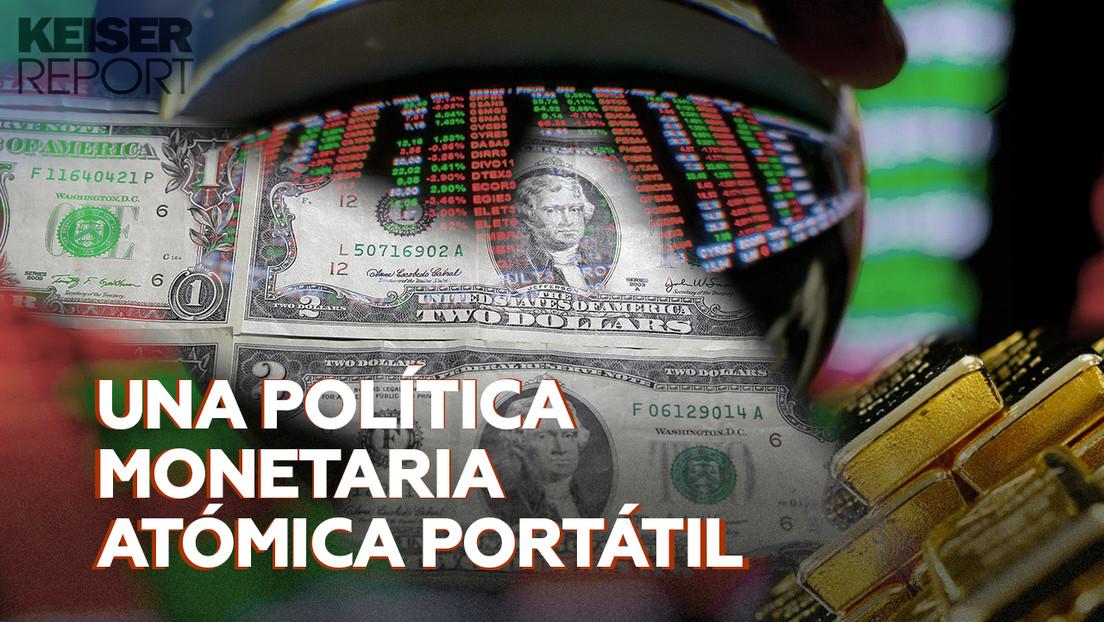 """La política monetaria de los bancos centrales: """"una bomba a la que le han quitado el seguro y le han activado el detonador"""""""