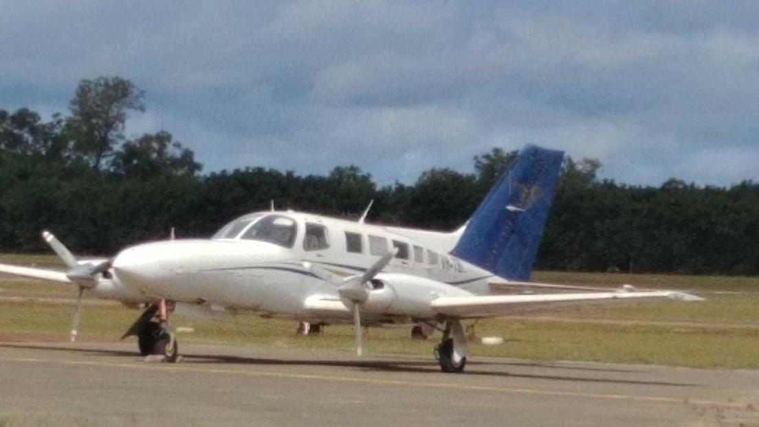 Un avión sobrecargado de cocaína se estrella durante el despegue (FOTOS)